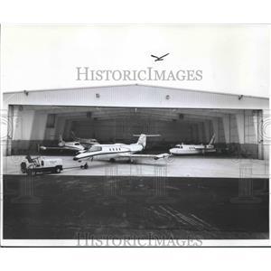 1979 Press Photo Mitchell Aero, Incorporated hangar at Mitchell Field.