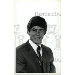 1973 Press Photo Bob Kreiger Hockey University Denver - RRW73899