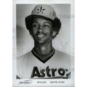 1979 Press Photo Houston Astros Enos Milton Cabell - RRW74493