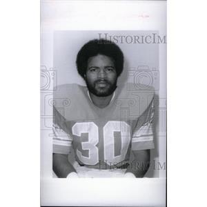 1977 Press Photo Detroit Lions Wayne Mosley - RRX38667