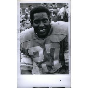 1969 Press Photo Bobby Thompson Detroit Lions Football - RRX38969