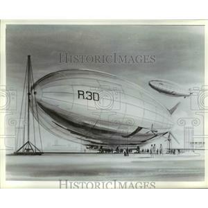 Press Photo Illustration of Blimps-Dirigibles - cvb37077