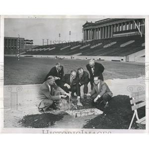 1958 Press Photo Pan American Games Soldier Field - RRW51913