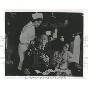 1970 Press Photo 1930s Stewardesses Wore White - RRX84863