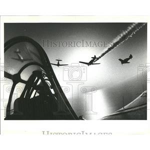 1983 Press Photo Plane Miller High Life Squadron