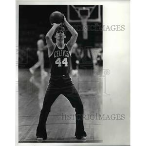 1982 Press Photo Danny Ainge Boston Celtics - cvb65934