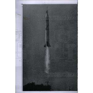 1958 Press Photo Explorer 4 US satellite Dr James van - RRX57585