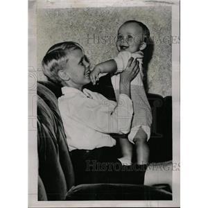 "1939 Press Photo Curtis ""Buzzie"" Dall & John Boettiger - RRW72961"