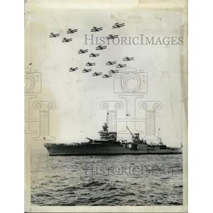 1934 Press Photo Birdmen President Roosevelt Naval - RRX71997