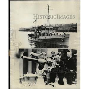 1928 Press Photo Coast Guard Cutter Marion Scientific - RRX72351