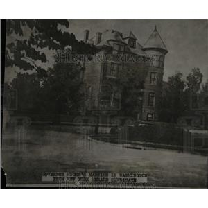 1916 Press Photo Home Of Governor Hughes In Washington - RRW78161