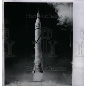 1958 Press Photo Explorer IV Satellite United State - RRX57589