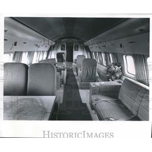 1985 Press Photo Corvair airplane, flying office of Kearney & Trecker, Milwaukee