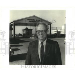 1987 Press Photo Reverend Ed De Wesse of Angola Prison Fellowship - noa88828
