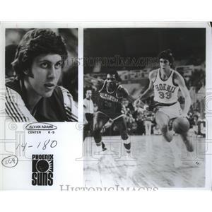 1979 Press Photo Phoenix Suns basketball center Alvan Adams - sas02266