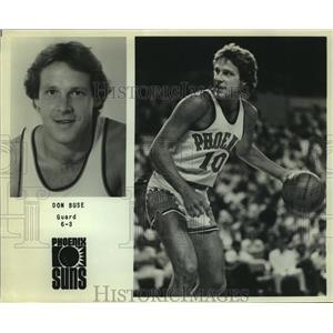 Press Photo Phoenix Suns basketball player Don Buse - sas06471