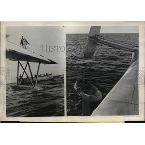 1946 Press Photo The Coast Guard plane sent out to sea to rescue a Honolulu girl