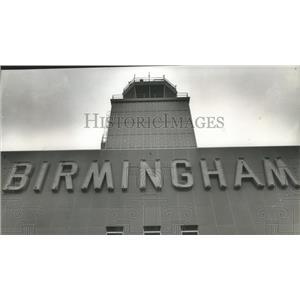 1964 Press Photo Birmingham, Alabama Airports: Municipal Control Tower