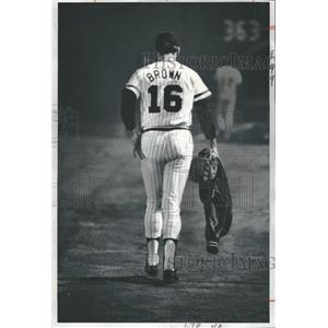 1972 Press Photo Jackie Borwn American Baseball player - RRQ18507