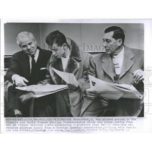 1956 Press Photo Roonie Robertson Skating Association - RRQ22553