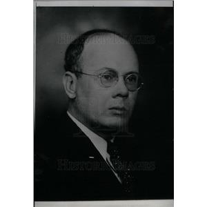 1935 Press Photo Rep. George A. Schroeder- New Speaker