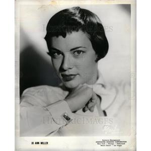 1958 Press Photo Jo-Ann Miller Australian politician.