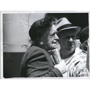 1959 Press Photo Michigan Artist