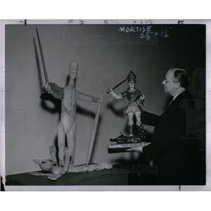 1953 Press Photo Francis Robinson, Art Institute
