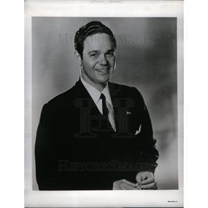 1949 Press Photo James Melton tenor