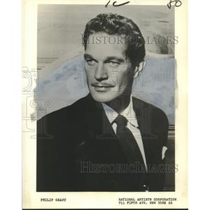 1960 Press Photo Philip Geary, Continental Airlines Air Age Education Director