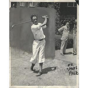 1930 Press Photo Johnny Lehman Professional Golfer - RRQ30785