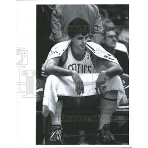 1989 Press Photo Kevin McHale Basketball Boston Celtics - RRQ62189