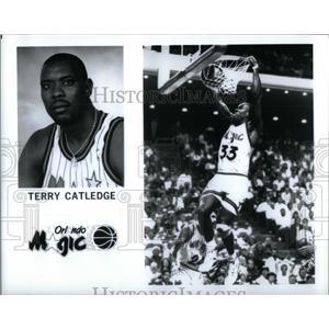 Press Photo Terry DeWayne Catledge Orlando Magic - RRQ45229