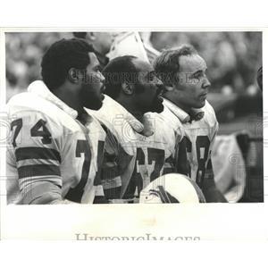 Press Photo Earl Edwards Buffalo Bills Football - RRQ56459
