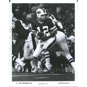 Press Photo Joe Ferguson Buffalo Bills - RRQ62291