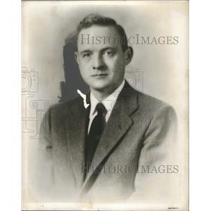1955 Press Photo George Huddleston Junior, Catholic - abna31885