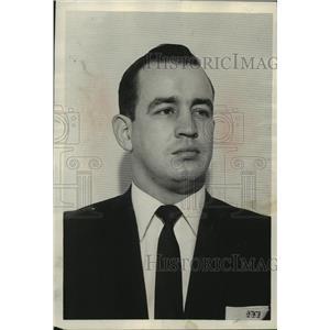 1956 Press Photo Billy Tucker, Sports - abns08372