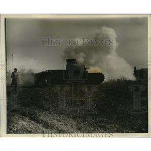 1927 Press Photo Division Tractor Model special tractor for divisional artillery
