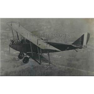 1975 Press Photo Biplane used in original flight by Glenn Messer in Birmingham