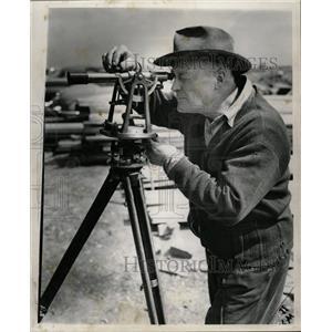 1954 Press Photo David Livingston Wood Dall Shendon - RRW22743