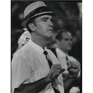 1974 Press Photo Green Bay Packers - Phil Bengtson at Football Game - mjt00280