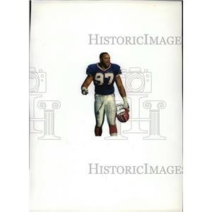 1993 Press Photo Buffalo Bills - Cornelius Bennett, Outside Linebacker