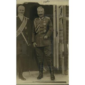 1918 Press Photo Portrait of the Ex Kaiser of Germany