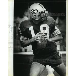 1981 Press Photo Rich Campbell, Green Bay Packers football team's quarterback
