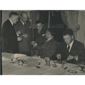 1937 Press Photo Chicago Mayor Edward Joseph Kelly