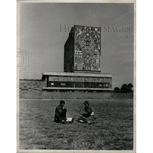 1960 Press Photo students at University of Mexico - RRX70623
