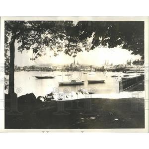 1932 Press Photo Zurich City Switzerland Scenic Beauty - RRX80977