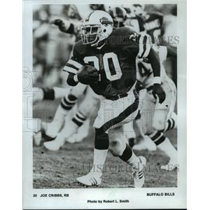 1982 Press Photo Buffalo Bills football running back, Joe Cribbs, in action