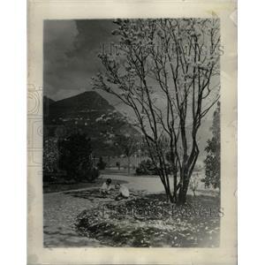 1928 Press Photo Lugano Switzerland Mount Bre - RRX69917