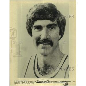 1981 Press Photo Atlanta Hawks basketball player Tom McMillan - sas17401